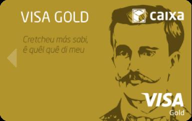 Visa gold card image